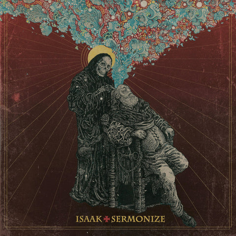 Isaak Sermonize LP on Ltd Transparent Splatter Red vinyl