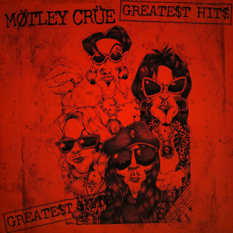 Motley Crue Greatest Hits 2LP 180gm vinyl