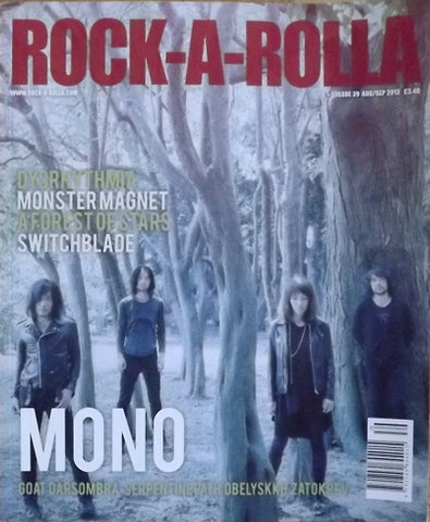Rock-A-Rolla Magazine Issue 39 Aug/Sep 2012