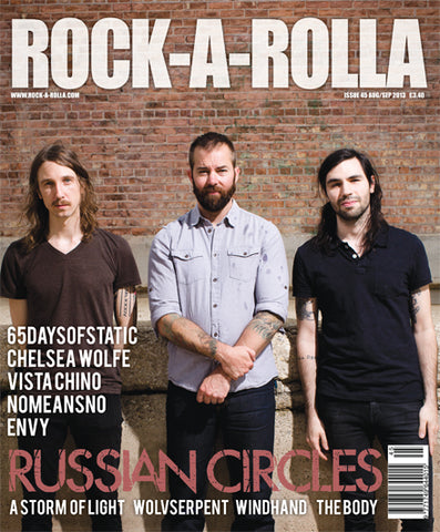 Rock-A-Rolla Magazine - Issue 45 Aug/Sep 2013