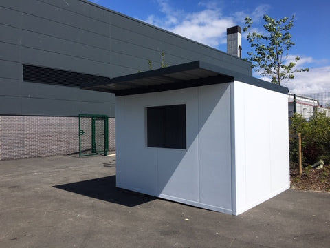 Insulated POD with box section roof