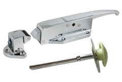 Chrome Kason 58 Cold Room Door Handle - Absolute Coldroom