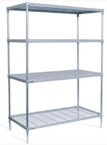 Cold Room Shelving - Nylon Coated Wire - Absolute Coldroom
