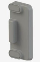 MTH Hinged Coldroom Door Handle - Fixing Kit Incl' Strike