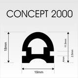 Concept 2000 Gasket (OUT OF STOCK) - Absolute Coldroom