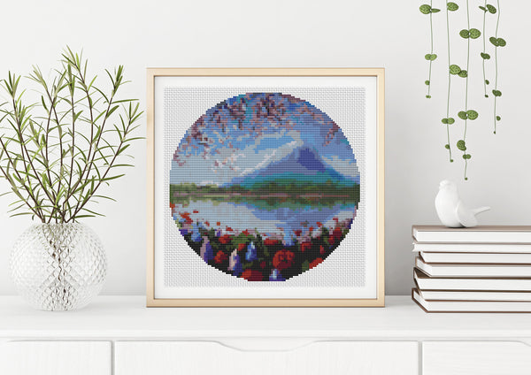 Blue Mountain Cross Stitch