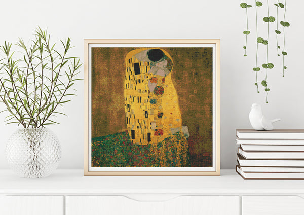 Gustav Klimt Cross Stitch