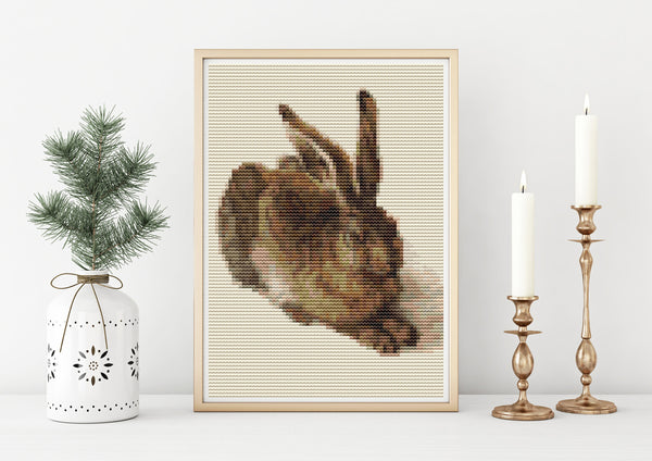 The Young Hare Cross Stitch