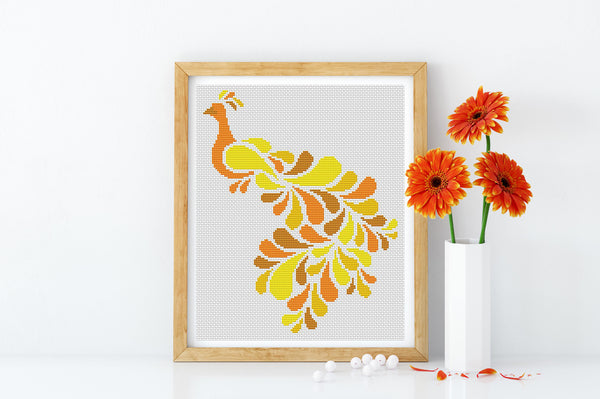 Peacock Cross Stitch
