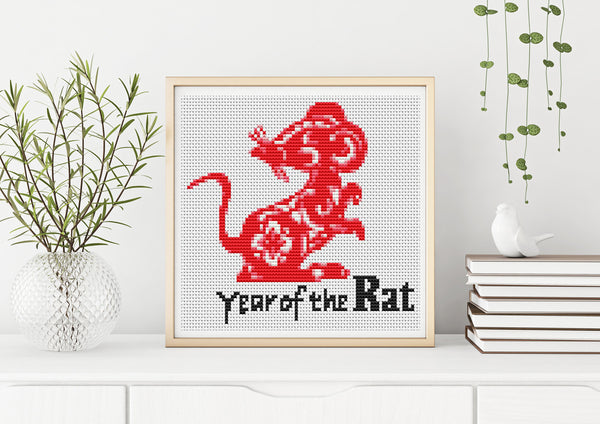 Year of the Rat Cross Stitch