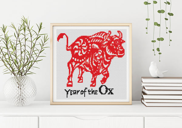 Year of the Ox Cross Stitch
