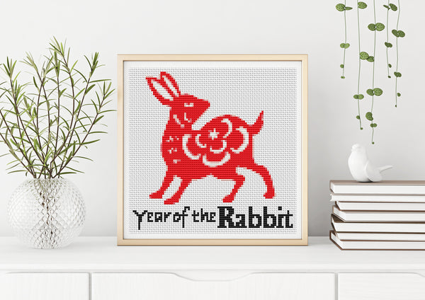 Year of the Rabbit Cross Stitch