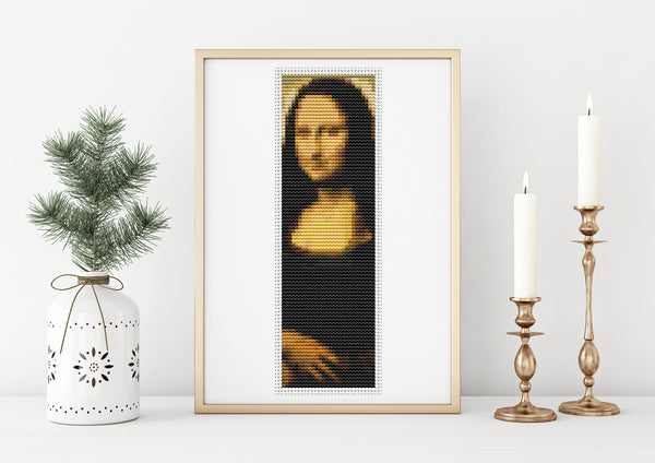 Mona Lisa  Cross Stitch