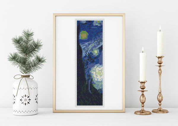 Starry Night Cross Stitch