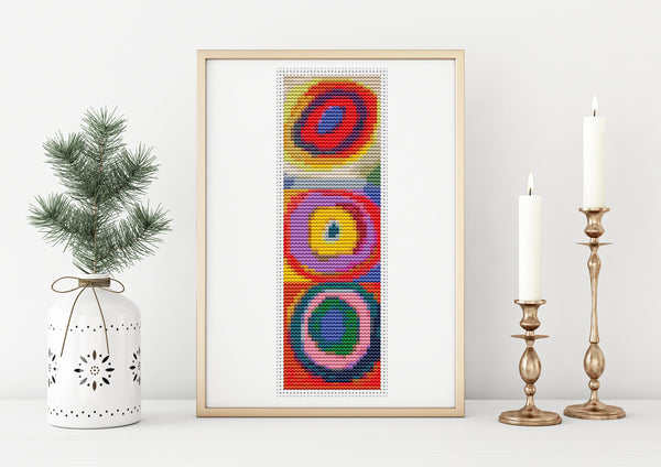 Abstract Cross Stitch