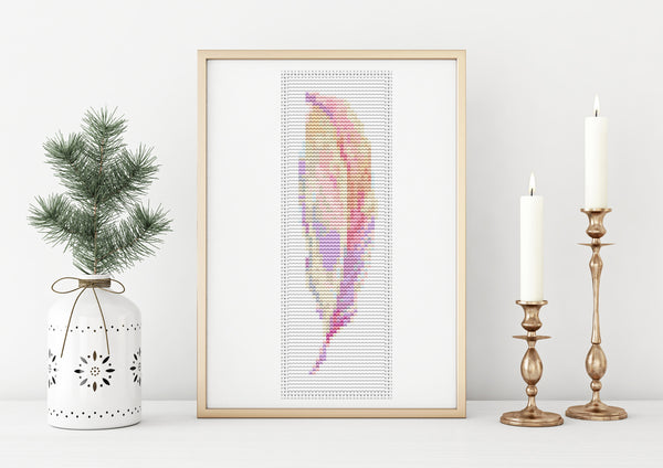 Feather Cross Stitch