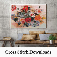 Cross Stitch Downloads, Cross Stitch PDFs, Digital Cross Stitch