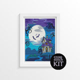 All Hallow's Eve Cross Stitch Kit - The Art of Cross Stitch