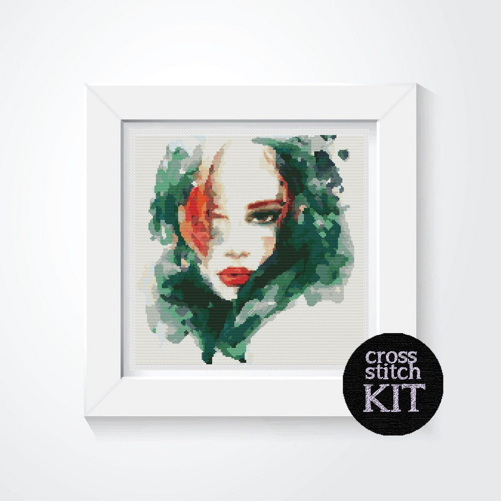 The Elements: Earth Cross Stitch Kit - The Art of Cross Stitch