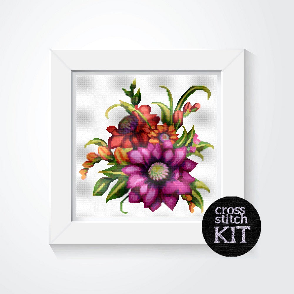 Serenade Cross Stitch Kit - The Art of Cross Stitch
