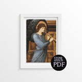 The Angel Cross Stitch Pattern - The Art of Cross Stitch