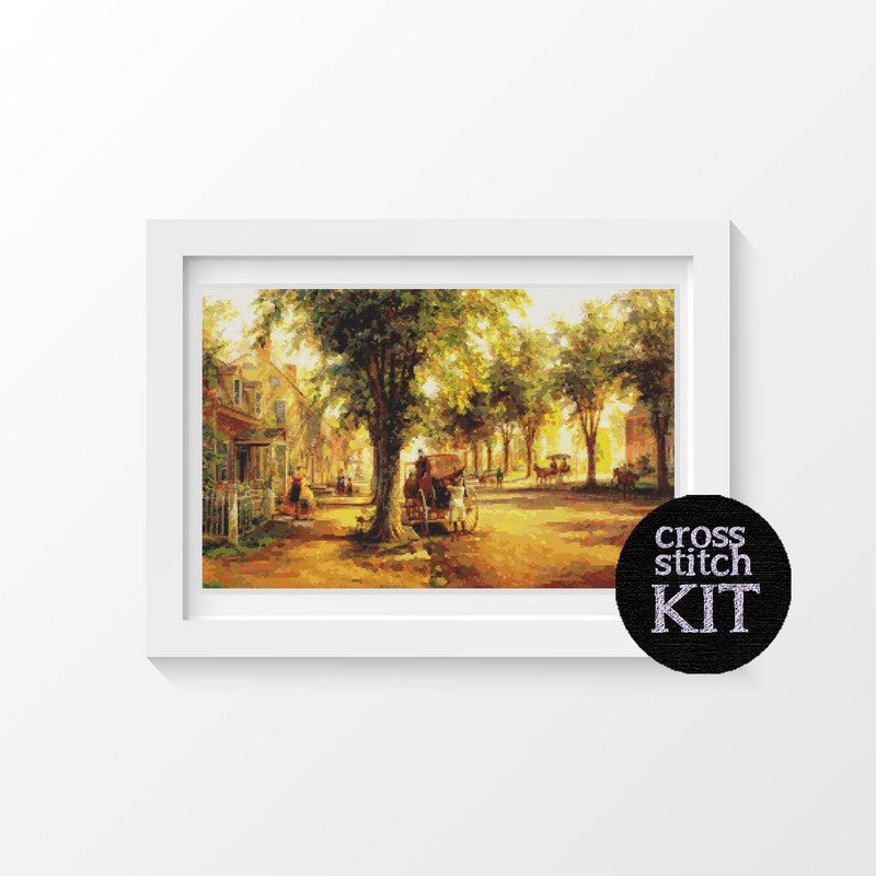 Coming Home Cross Stitch Kit - The Art of Cross Stitch