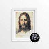 Jesus Cross Stitch Pattern