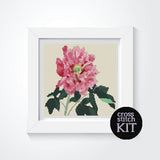 Peonies Cross Stitch Kit - The Art of Cross Stitch