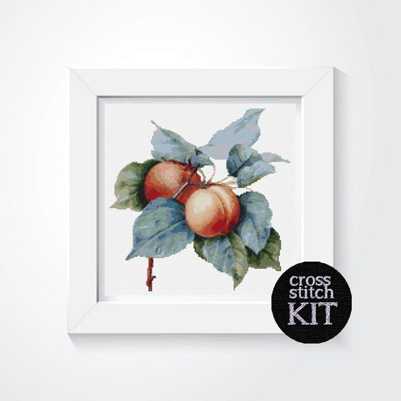 Apricots Cross Stitch Kit - The Art of Cross Stitch