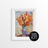 Gladiolis Cross Stitch Kit - The Art of Cross Stitch