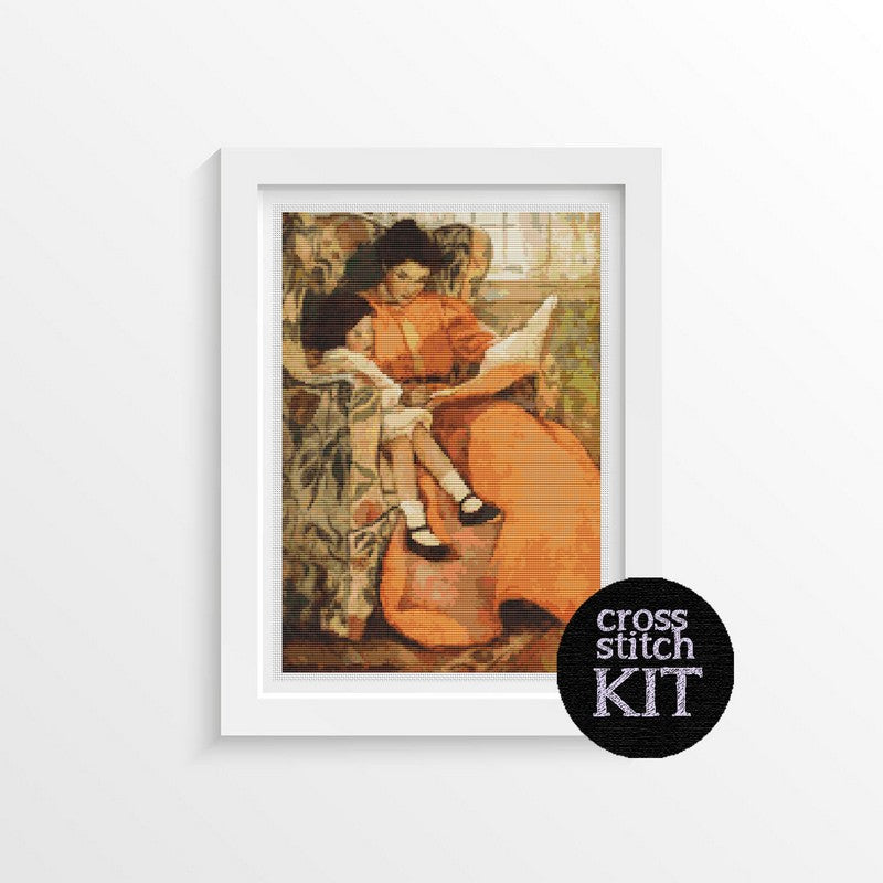 A Rainy Day Cross Stitch Kit - The Art of Cross Stitch