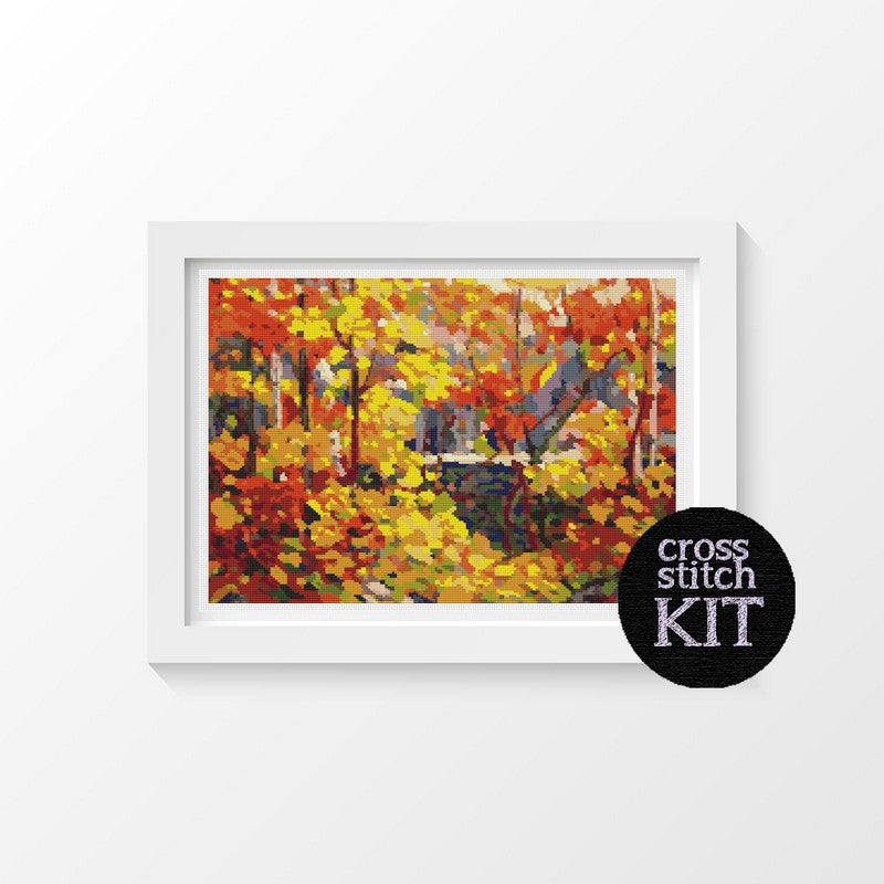 The Pool Cross Stitch Kit - The Art of Cross Stitch