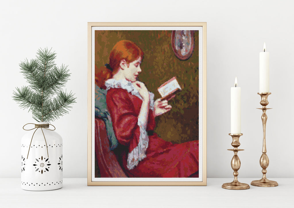 The Good Book Cross Stitch Pattern - The Art of Cross Stitch