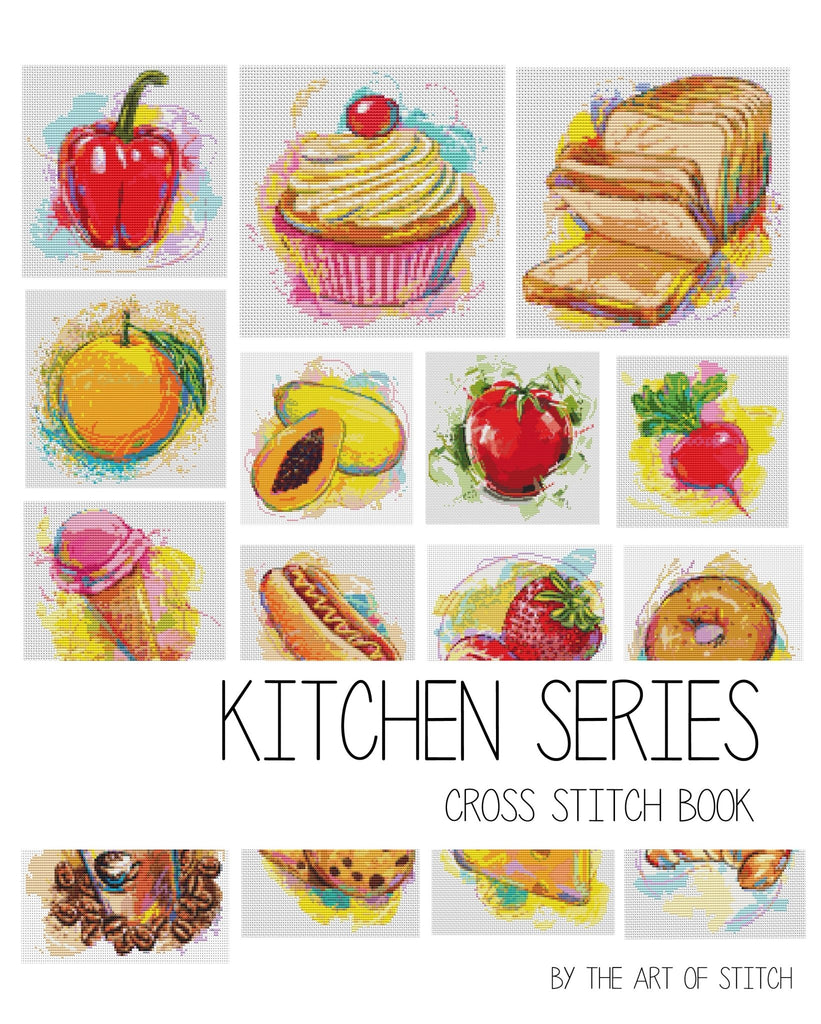 Kitchen Cross Stitch Kit by Kitchen Series