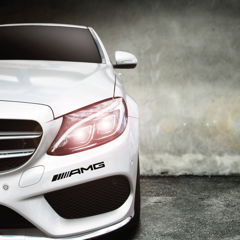 AMG Car Decal
