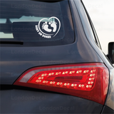 Baby On Board Car Decal - Footprints
