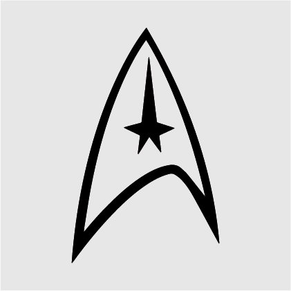 Star Trek Decal