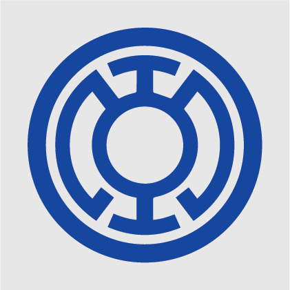 Blue Lantern Decal
