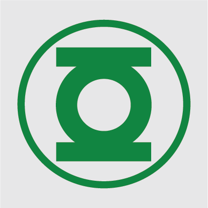 Green Lantern Decal