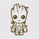 Baby Groot Decal