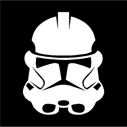 Star Wars Storm Trooper Decal