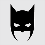 Batman Head Decal