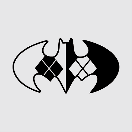 Harley Quinn Batman Decal