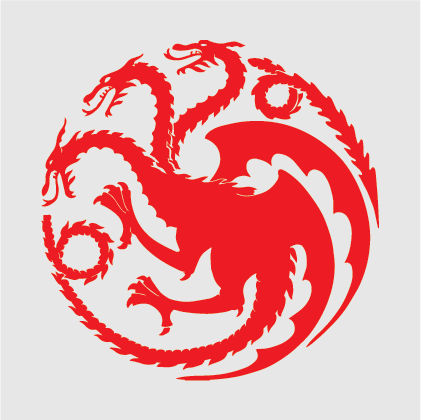 Game of Thrones - House of Targaryen Decal