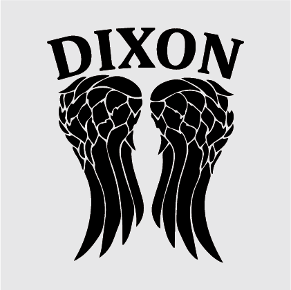 The Walking Dead - Dixon Decal