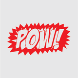 Pow! Decal
