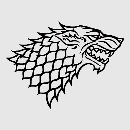 Game of Thrones - House of Stark Decal