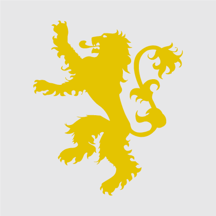 Game of Thrones - House of Lannister Decal