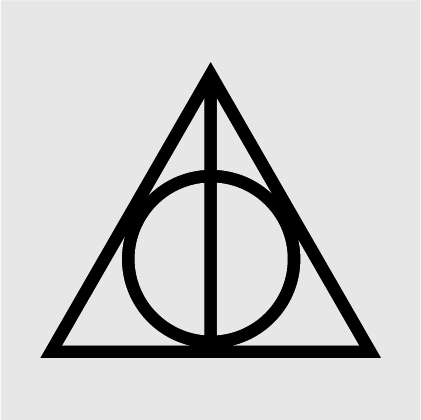 Harry Potter Deathly Hallows Decal