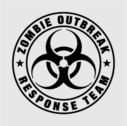 The Walking Dead - Zombie Outbreak Decal